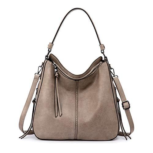 Real handtassen dames imitatieleer schoudertas designer tassen hobo tassen groot met kwasten