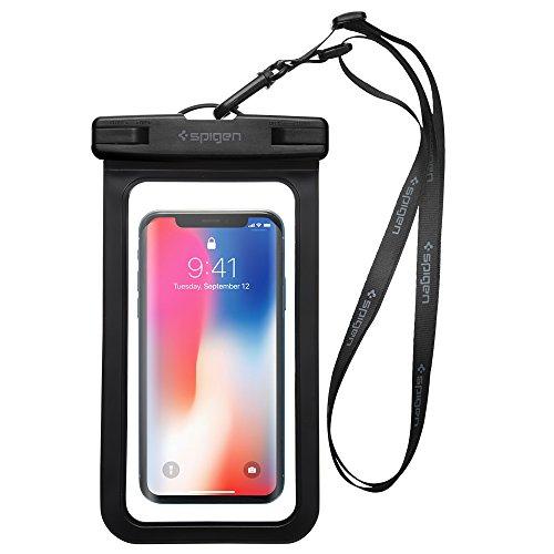 Spigen Velo IPX8 Certificato Custodia Impermeabile Smartphone per iPhone 11 PRO Max XR XS se 2020 Samsung s20 Plus s10 Huawei xiaomi Google Pixel - Nero