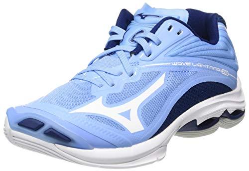 Mizuno Wave Lightning Z6, Zapatillas de vóleibol Mujer, Dellarblue/Blanco/2768c, 37 EU