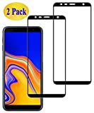 Eachy Compatible con Cristal Templado Samsung Galaxy J6 Plus/Samsung J4 Plus Vidrio Templado, [2...