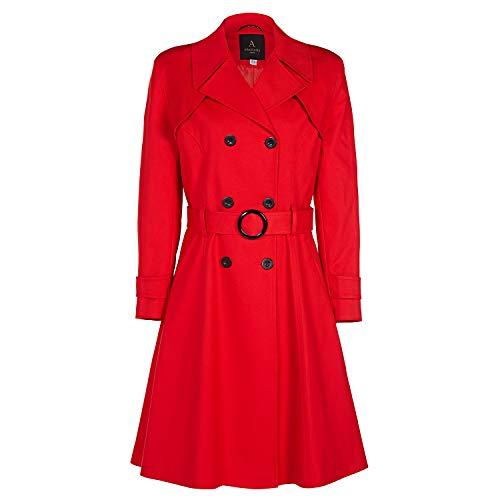 Anastasia - Womens lente gordel Trench jas