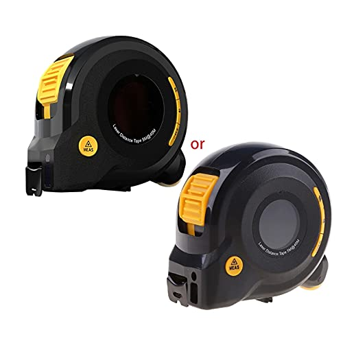 3-in-1 40M+5M+100M Infrared-Laser Tape Measure Digital Range Finder Measurement Distance Meter Arc Golf Range Finder Ruler Roulette Tool