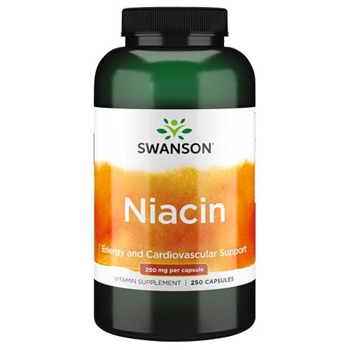 Swanson 250Mg Niacinamide 250 Capsule - 250 g