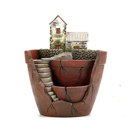 HYY-YY creatieve hars ambachten antenne tuin Potted Micro landschap onderdelen potten Home slaapkamer decoraties stijlvol en mooi
