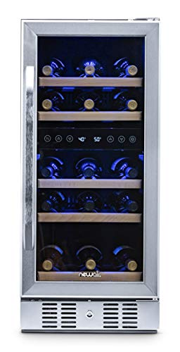 NewAir AWR-290DB Wine Cooler, 29 Bottle, Stainless Steel
