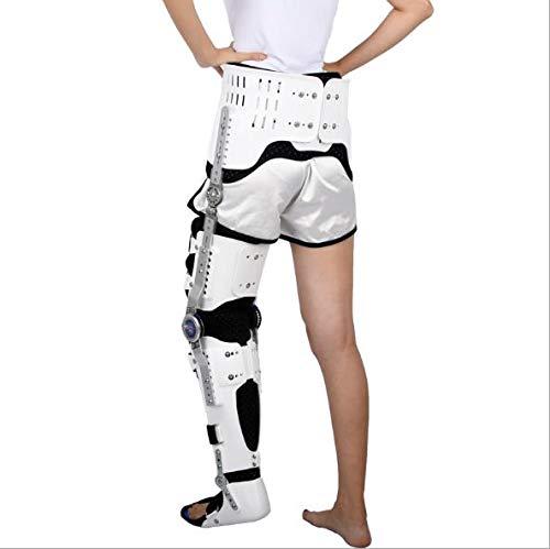 Apoyo ortopédico ROM para abducción de cadera postoperatorio, soporte para abducción de cadera, soporte para corrector estabilizador de cadera, ortesis ajustable para rodilla, tobillo, pie y t
