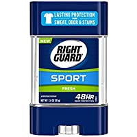6-Pack Right Guard Sport Antiperspirant Deodorant Gel