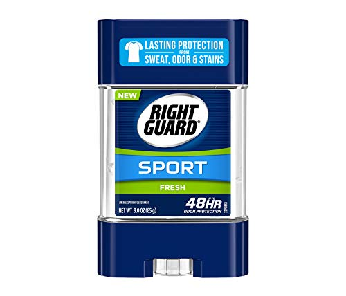 Right Guard Sport Antiperspirant Deodorant Gel, Fresh, 3 Ounce (Pack of 6)