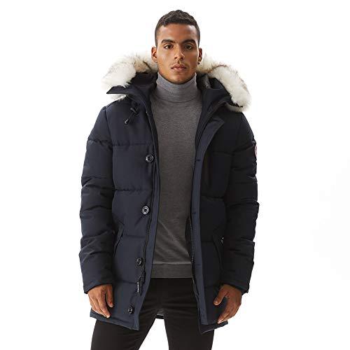 Fur Lined Jacket Mens