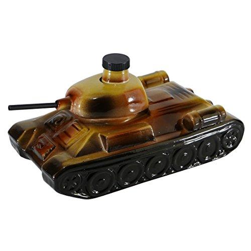 Vodka Zlatogor Panzer 1L Wodka Geschenkset Tank Geschenkideen Geschenke