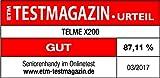 Emporia TellMe X200 Grosstasten-Klapphandy (mit Farbdisplay Aussendisplay Notruftaste VGA-Kamera), Rot - 6