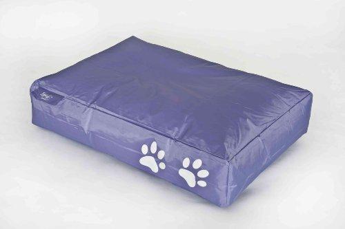 Fritz-Sitzsack Dogbed in lila
