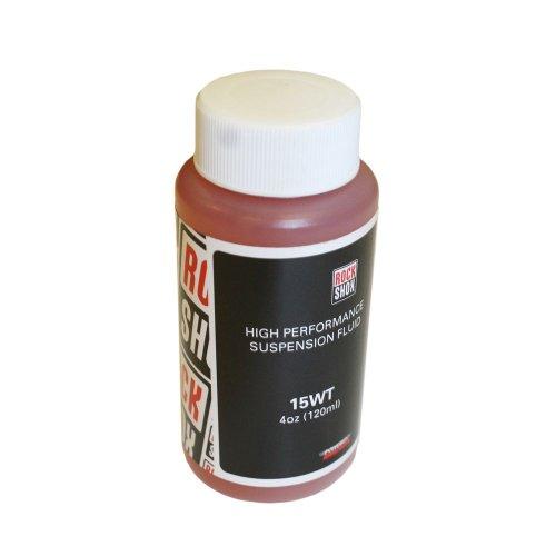 RockShox Suspension Oil, 15wt, 120ml Bottle