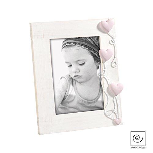 Mascagni fotolijst, hartvorm, 13 x 18 cm, meerkleurig, 142015.01