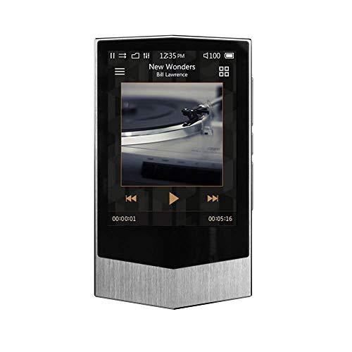 COWON PLENUE V 24bit/192kHz CS43131 DAC 64GB APE Hohe Auflösung HiFi Musikplayer (Silber)