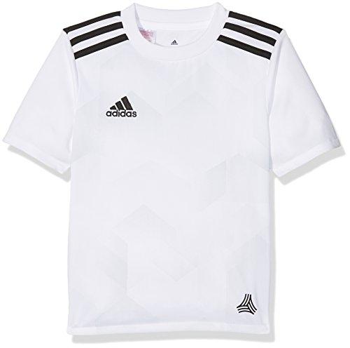 adidas Kinder Tango Cage Graphic Trikot T-Shirt, White/Clegre, 116