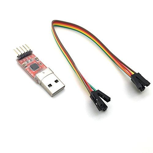 AptoFun Convertitore seriale di Moduli USB 2.0 a Ttl UART 5PIN CP2102 per Arduino