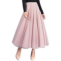 inlzdz Women Girls Classic Chiffon 13 Panel Fairy Fancy Skirt Asymmetric Side Split Belly Dance Skirt Dance Dress