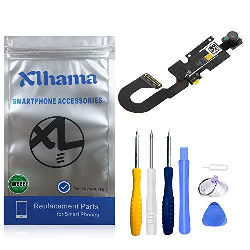 Xlhama Cámara Frontal de Repuesto Compatible con iPhone 7 cámara Frontal Sensor de proximidad Cable Flexible de autofoco con Kit de Herramientas de reparación