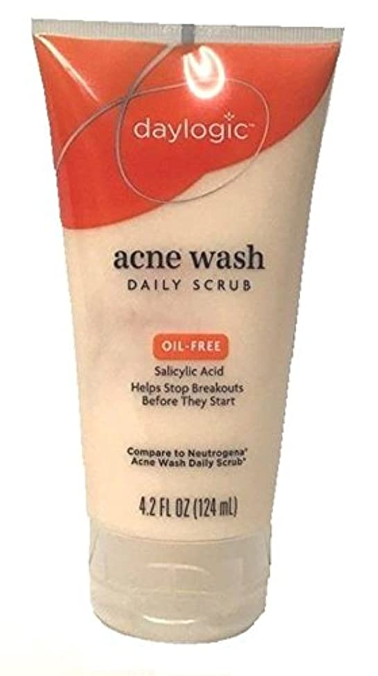 Pack of 2 - Daylogic Acne Wash Daily Facial Scrub
