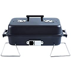 """Large Cooking Area: Primary cooking area 180 square inches(16.7"""" Length x 10.8"""" Wide) making it ideal for family or group tailgating, on a road trip, camping, or grilling at home with a single tabletop sized grill. Portable: You can take anywhere, co..."""