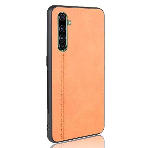 LAGUI Passend für Realme X50 Pro 5G Hülle, Superdünne Fein & Elegant Handyhülle, Gelb