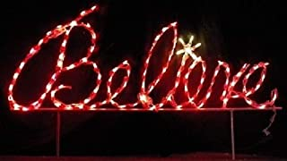 Best lighted believe christmas sign Reviews