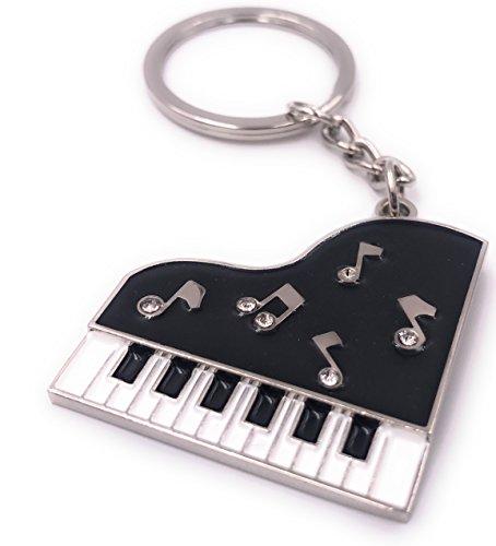 H-Customs Keyboard Klavier Piano Schlüsselanhänger