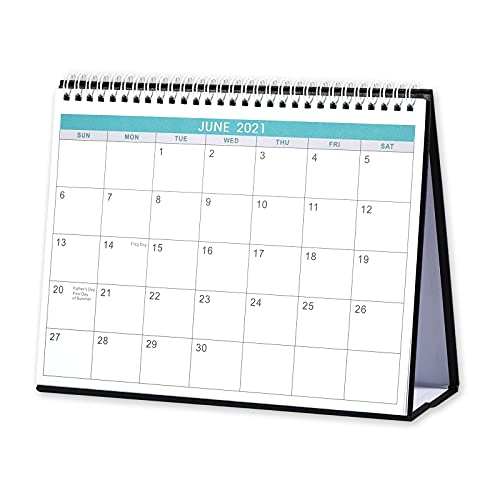 2021-2022 Desk Calendar - Standing Flip 2021-2022 Desktop Calendar Generous Memo Lined Pages with Thick PaperMay 2021 - Dec 2022 10 x 83 Stand up Desk Calendar with Strong Twin-Wire Binding