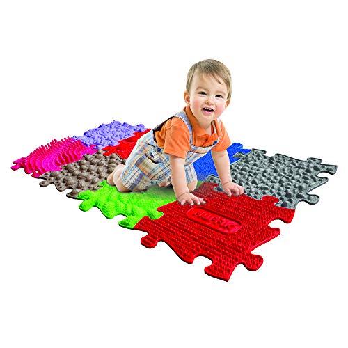 Tappeto ortopedico per bambini tappeto sensoriale bambini tappeto ortopedico per bambini e adulti puzzle 1 anno bambino camminare tappeto sensoriale neonati per bambini puzzle