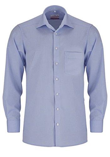 MARVELiS-Hemd MODERN-FIT 4704-69-11 h.blau Extra langer Arm: Kragenweite: 44 | Farbe: 11-hellblau
