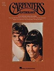 Carpenters anthology piano, voix, guitare