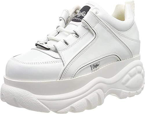 Buffalo Damen Sneaker Größe 40 EU Weiß (Weiss)