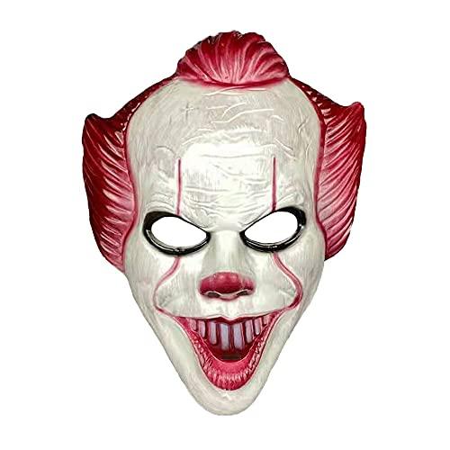 Halloween horror clown mask, masquerade props mask Horror cosplay mask