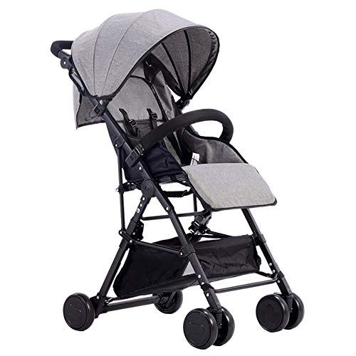 Lowest Price! Cylficl Baby Stroller Ultra Light Portable Can Sit Reclining Folding High Landscape Ba...