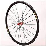 TYXTYX Rueda Trasera de Bicicleta de Carretera 700c Llantas de Doble Pared 28'Freno C/V de liberación rápida 24 H Buje de Casete de 8-11 velocidades