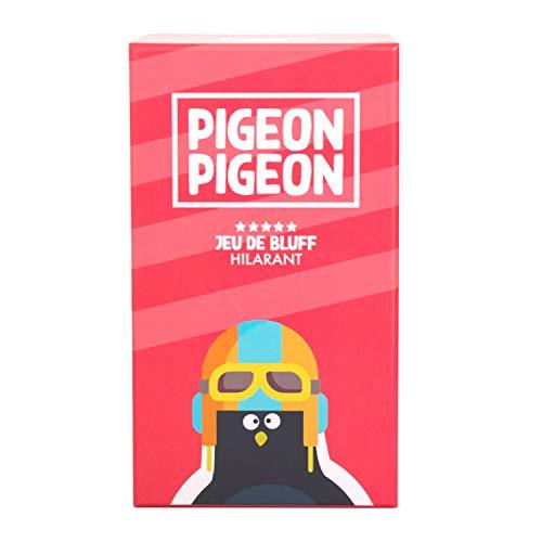 🇫🇷 Jeu de société Pigeon Pigeon - ambiance, bluff, créativité, humour - fabriqué en...