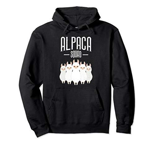 Alpaca Squad, Alpaka Illustration Pullover Hoodie