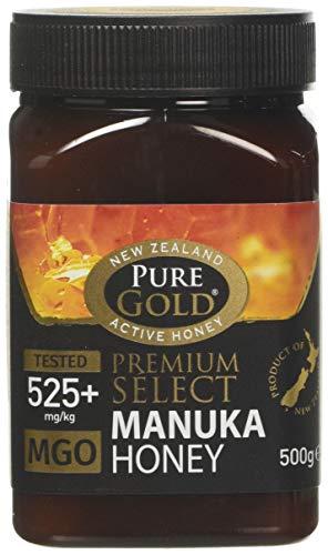PURE GOLD Premium Select Manuka Honey 525+ MGO 500 g
