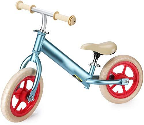 BIGE Bike BICIDO NO-PEDALIZADORES AZUNDADORES BICICLETE para NIÑOS Edad 2-6 con Asiento Ajustable