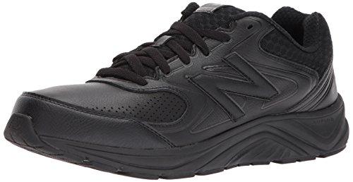 New Balance Men's 840 V2 Walking Shoe, Black/Black, 10.5 XW US