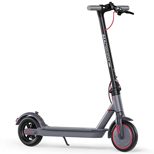 Macwheel MX PRO Electric Scooter, 25 Miles Long-Range Battery, Max Speed 15.5 MPH, 8.5'' Non-Pneumatic Tires, Foldable and Portable Electric Scooter for Adults, Commute and Travel
