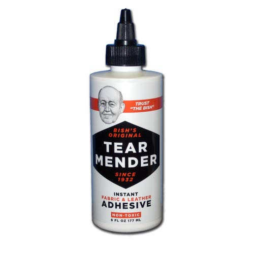 Complete Repair Kit for Canvas Tents, Pop-Up Campers, Tarps, Marine and Boat Covers | with 6oz Tear Mender Glue, Speedy Stitcher Sewing Awl/Needles, Over 6 Sq Ft of Canvas and 30 Yards of Waxed Thread