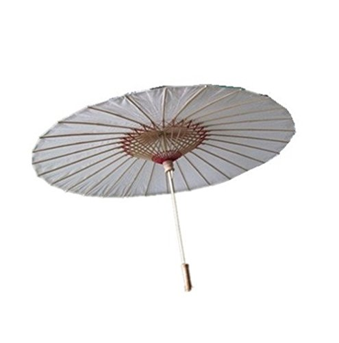 josep. H chinesische japanische Öl Papier Sonnenschirm Regenschirm 1Stück (grün) weiß