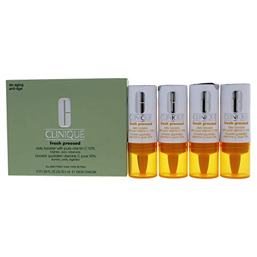 Clinique Fresh Pressed Daily Booster With Pure Vitamin C, 0.029 Ounce