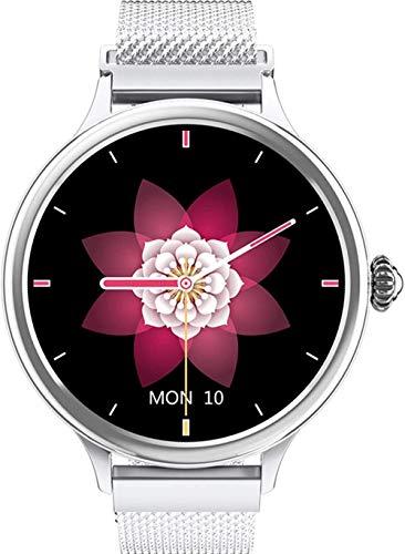 Reloj inteligente para mujer con Bluetooth rastreador de actividad física IP68 resistente al agua/herramienta de periodo femenino