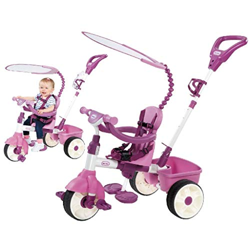 Little Tikes - 634307E4 - Tricycle - Evolutif 4 En 1 Pink/Rose