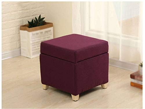 Taburete de almacenamiento, taburete multifunción, simple para sala de estar