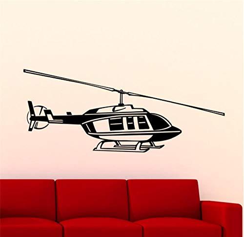 MUXIAND aankomst militair vliegtuig met verwijderbare wandtekeningen vinyl stickers voor huisdecoratie behang ontworpen voor kunst 90x37cm