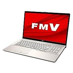 【公式】 富士通 ノートパソコン FMV LIFEBOOK NHシリーズ WN1/E2 (Windows 10 Home/17.3型ワイド液晶/Core i7/32GBメモリ/約1TB SSD + Optaneメモリ 約32GB/Blu-ray Discドライブ/Office Home and Business 2019/シャンパンゴールド/TV機能付き)AZ_WN1E2_Z384/富士通WEB MART専用モデル